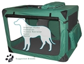 Generation II Deluxe Soft Crate, Large pet, gear, soft, crate